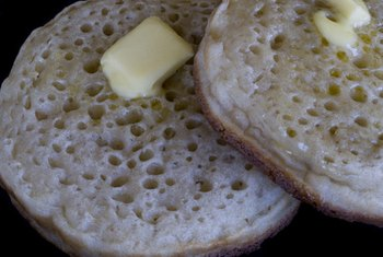 Some English muffins come in high-fiber varieties.