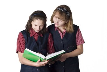 Many schools require students to purchase and wear a uniform.