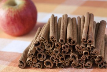 The sweet perfume of cinnamon sticks are reminiscent of a country store.