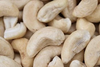 Raw cashew nuts are virtually sodium-free.