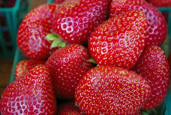 Strawberries, a rich source of vitamin C, benefit your hair.