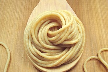 Whole-grain pasta is packed with fiber and nutrients.