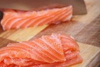 Salmon's protein, healthy fats and vitamin A nourish your skin and hair.