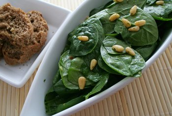 Spinach is full of calcium, but it is difficult for your body to absorb.