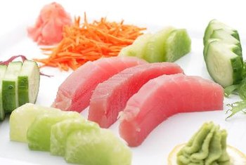 Tuna is a good source of vitamin B-6.