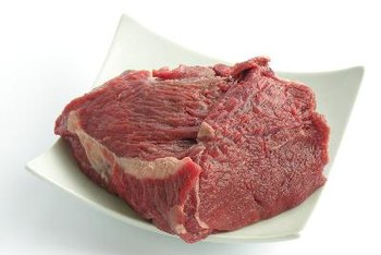 Red meat is one of the better sources of iron.