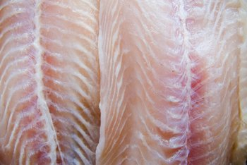 Grey sole fillets are juicy and fresh-tasting.