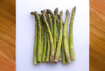 Asparagus is rich in vitamin K.