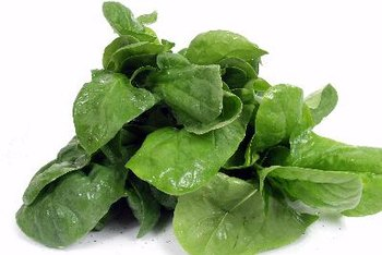 Toss a handful of spinach into your smoothie for extra vitamins and minerals.
