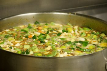 Vegetarian soups are typically rich in vitamins, minerals and phytonutrients.