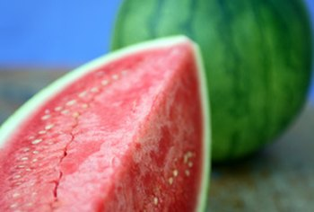 Watermelon is rich in the antioxidant compound lycopene.