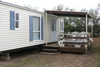 Creativity makes a mobile home one-of-a-kind.