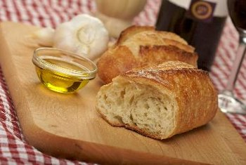 Whole-grain breads and unsaturated fats are two of the best choices.