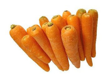 Carrots and other orange foods are rich in carotenoids.