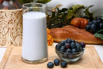 Kefir yogurt is a fermented milk drink.