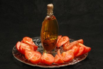For vitamin E-rich snack, try olive oil drizzled over fresh tomatoes.