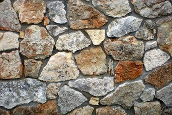 Artificial stones are used as decor elements in many homes.
