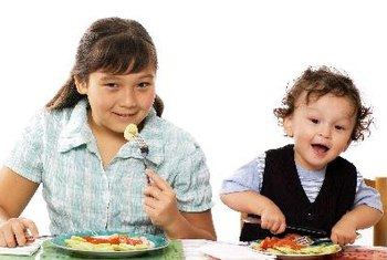 Encourage your family to eat healthy meals together.