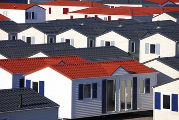 Manufactured housing is a popular option in some regions.