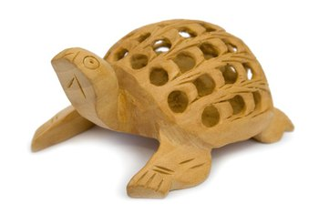 You can craft wooden toys to resemble animals, buildings and people.