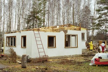 Old home remodels can be minor, or major.