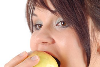 Apples contain naturally occurring sugar.