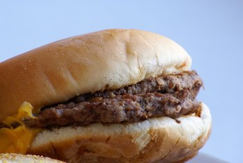 A cheeseburger today will have around 131 more calories than in 1977.