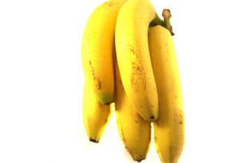 Bananas are loaded with potassium.