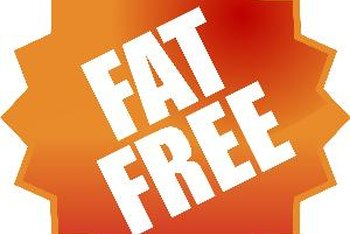 "Foods that contain less than 0.5 gram of fat are labeled ""fat free."""
