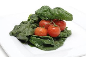 Eat spinach with tomatoes to allow better iron absorption.