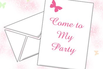 Start a home-based invitation business to sell custom invitations.