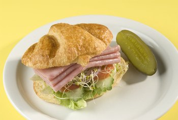 Delis serve sandwiches and pickles.