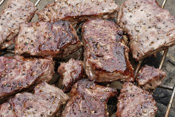 Grill beef chuck boneless top blade steak for a quick dinner.