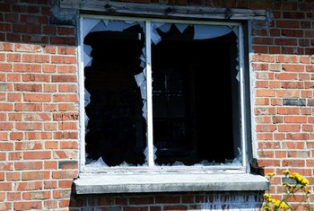 Burglary and vandalism are among the threats homeowner's insurance covers.