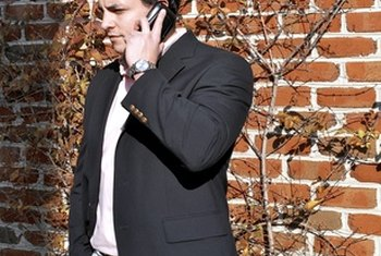 Conduct your business calls with care.