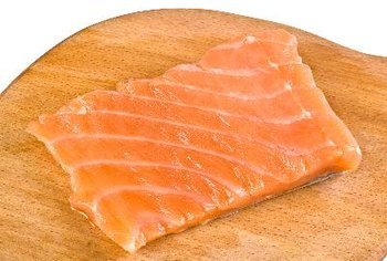 Salmon is a good source of omega-3 fats.
