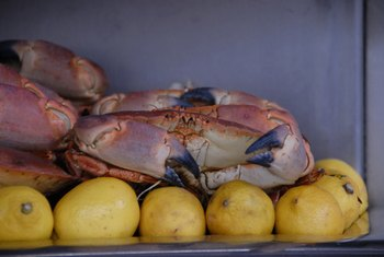 Crabs provide essential omega-3 fats.