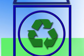 Stocking your workplace with recycle bins helps employees participate in your initiative to go green.