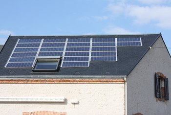 Solar panels and water heaters provide 30 percent tax credits.