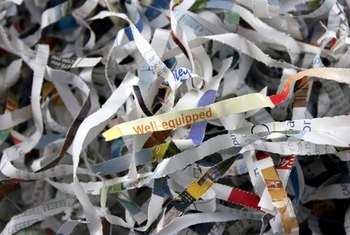 The fear of identity theft has made the paper shredding sector a booming industry.