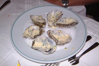 Oysters have a place in a healthy diet plan.