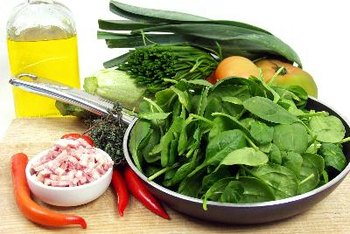 Spinach may help limit your risk for macular degeneration.
