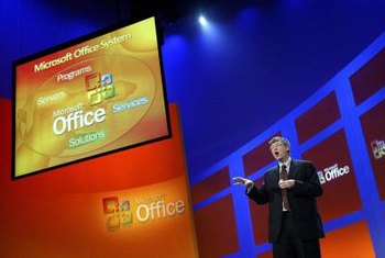 Microsoft's Outlook program is part of the Office Suite and runs into performance issues when overloaded.
