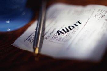 Audits examine all financial paperwork such as receipts.