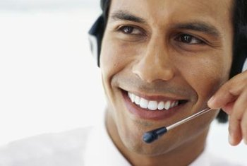 Good customer service representatives smile often.