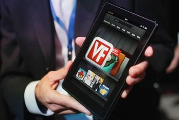 Take your photos with you on the Kindle Fire.