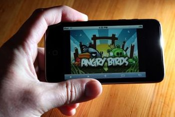 """Angry Birds"" surpassed a billion downloads in 2012 across all platforms."