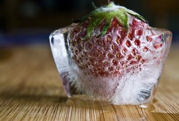 Frozen strawberries are high in nutrition and low in carbs.