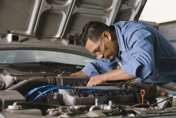 Automotive technicians perform a variety of tasks to keep vehicles running smoothly.