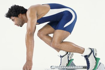Sprinting involves running as rapidly as possible, usually for up to a minute.